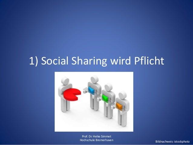 Social Sharing als Chance in der Logistik Slide 3