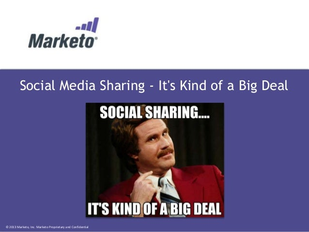 Social Media Sharing - It's Kind of a Big Deal