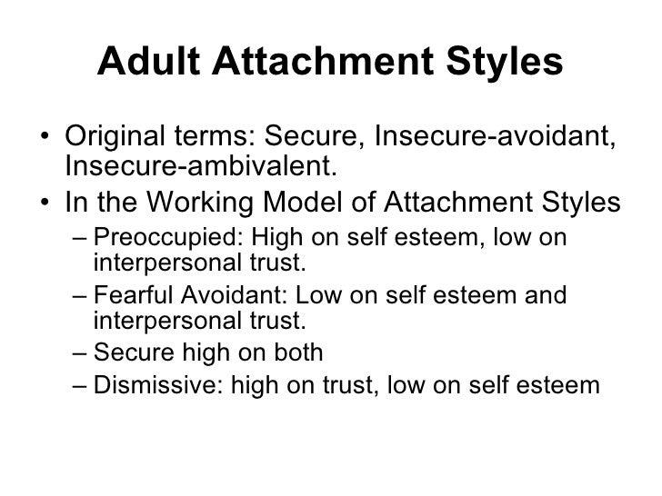 Dismissive avoidant attachment causes