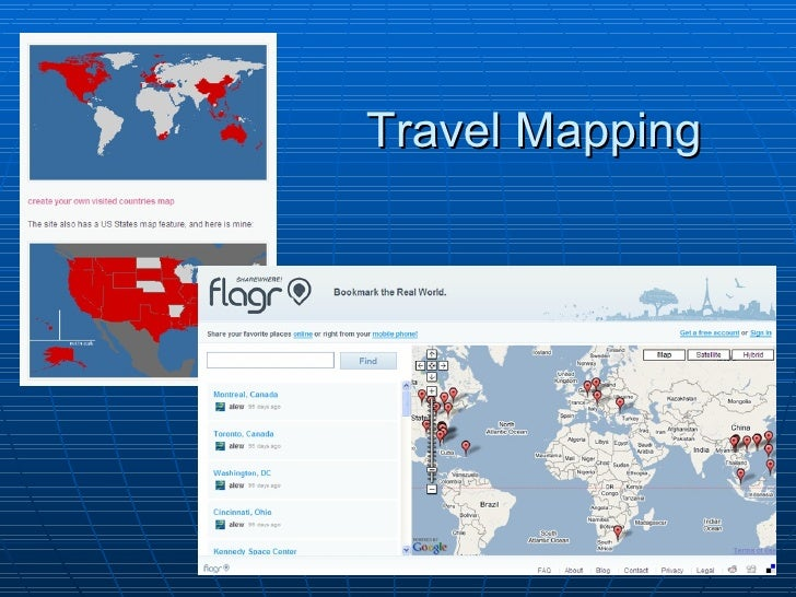 Social Software In The Travel and Tourism Industry and In Teaching A Sus – Travel Mapping Software