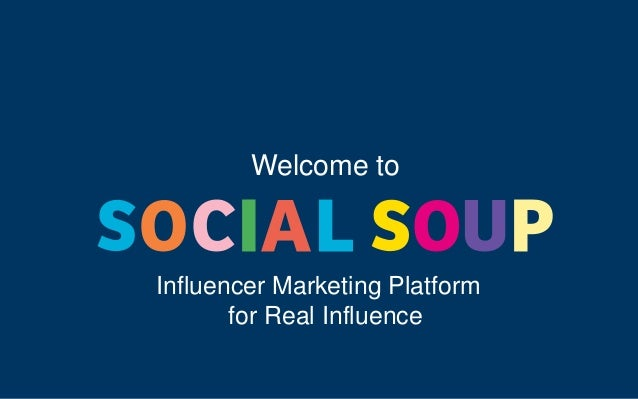 Welcome to Influencer Marketing Platform for Real Influence