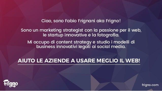 SOCIAL STRATEGY: social media strategy come supporto alla vendita Slide 2
