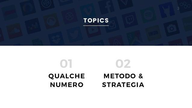SOCIAL STRATEGY: social media strategy come supporto alla vendita Slide 3