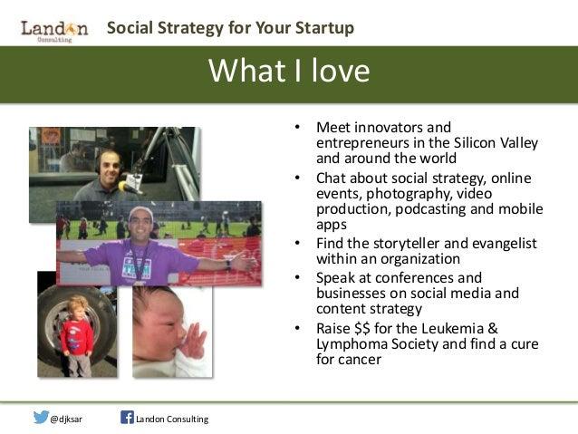 Social Strategy for Startups Slide 2