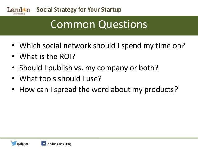 Social Strategy for Startups Slide 3