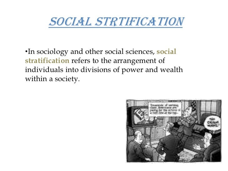 social stratification social