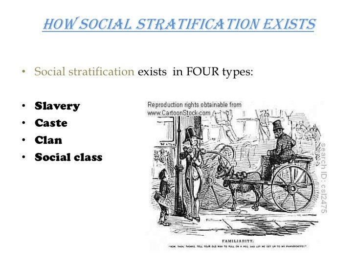 caste system as a form of social stratification Keywords: caste system social stratification, caste stratification the caste system is one of the oldest forms of social stratification and even though it may be prohibited by the law, the political divisions continue to exist in the minds of the people leaving many oppressed.
