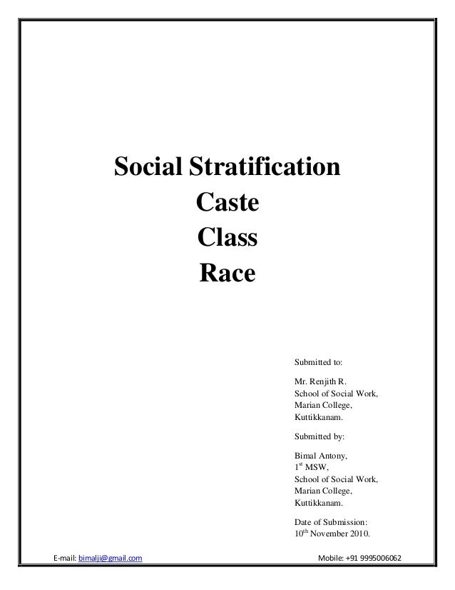 social stratification in schools Education and social stratification meaning of social stratification the concept of social stratification could be related to the classic parable.