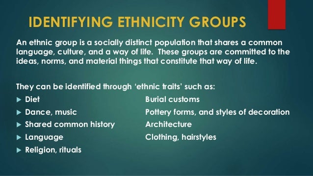 ethnic identity way of defining differentiating 2018-7-20 ethnic conflict: ethnic conflict, a  ethnic identity,  ethnic identity is seen as unique in intensity and durability and as an existential factor defining.