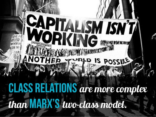 webers theory of social class Within the market economy propertyless individuals depend upon the skills they can offer, and the relative scarcity of these skills improves their market position for this reason, the highly qualified have a different class situation from those with no qualifications weber's theory of social class is based on the view that class.