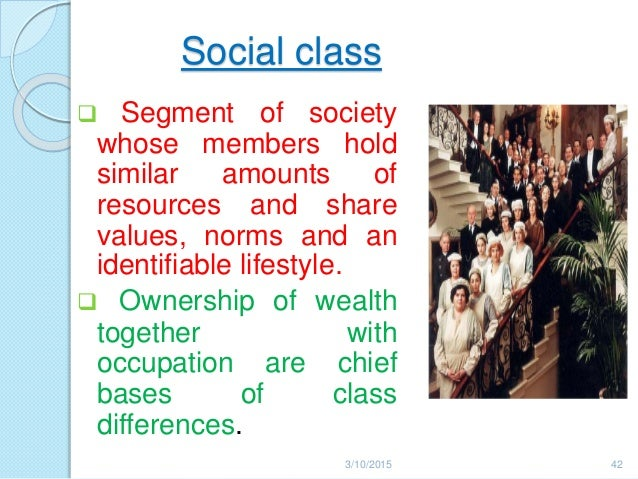 social class and a persons life chances Bourdieu described three types of capital that place a person in a certain social  life chances and outcomes  social class attainment and social mobility are.
