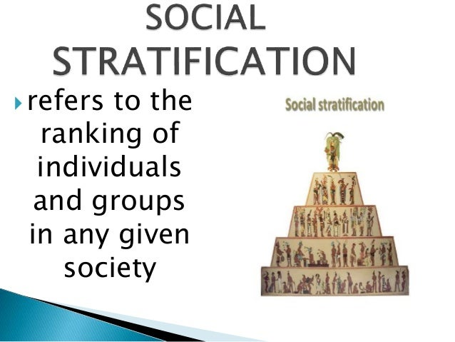 Essay on social stratification and poverty