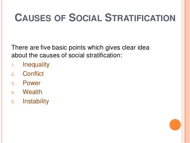 social stratification in india ppt