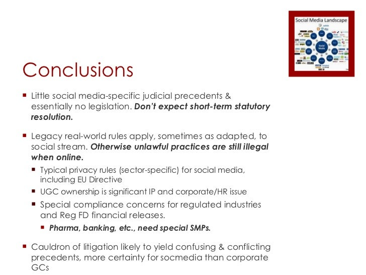 Social Media: Managing Legal Risks