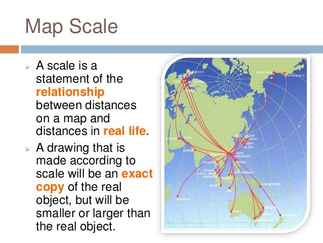 What Is Map Scale Types of Map Scales