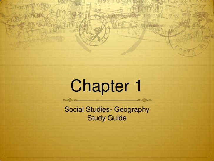 social science study guide Social sciences and history clep - a free study guide resource.