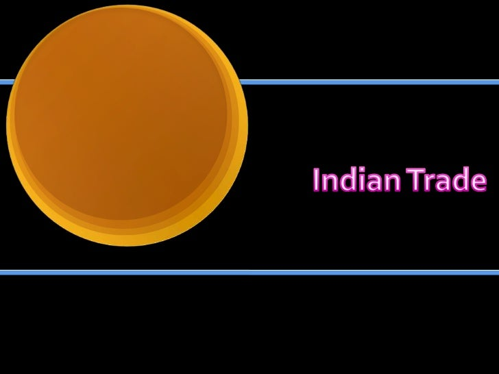 Indian Trade<br />