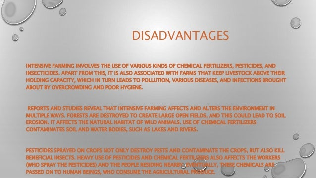 a description of the advantages and disadvantages of using pesticide