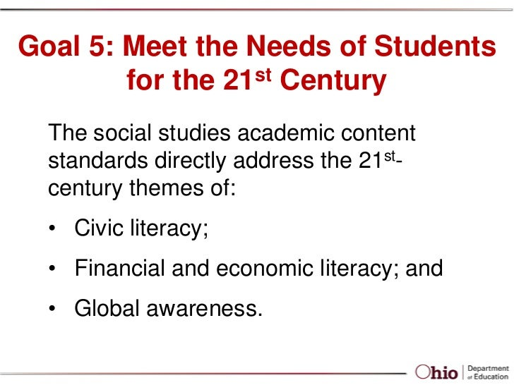 Social studies roll out