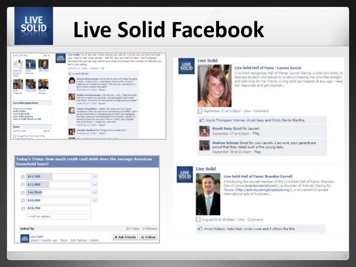 Live Solid Facebook