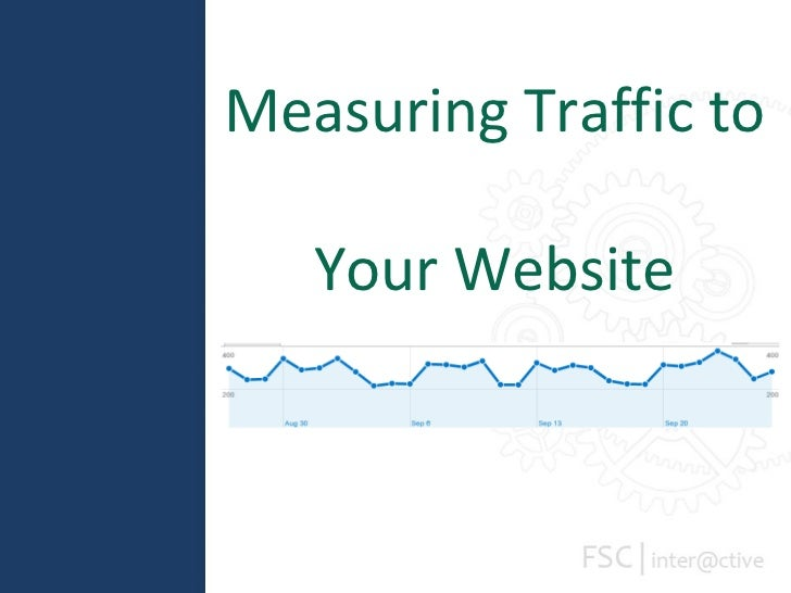 Measuring Traffic to  Your Website