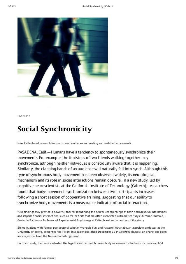 1/25/13                                                      Social Synchronicity | Caltech          12/12/2012          S...