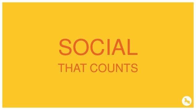DATA & PERSONNALISATION SOCIAL THAT COUNTS