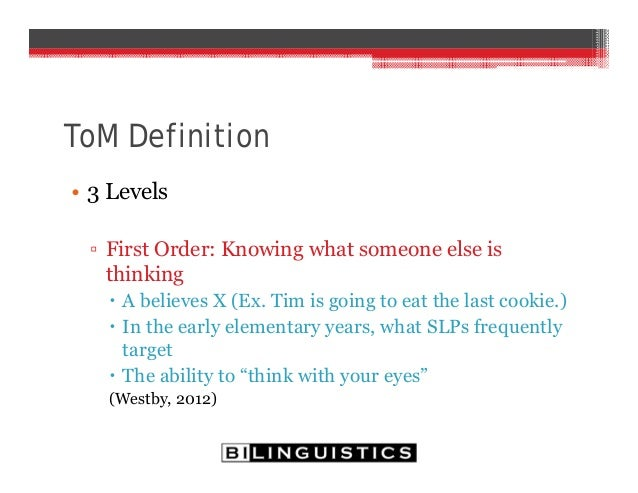 theory of mind definition