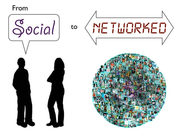 FromSocial   to              Networked
