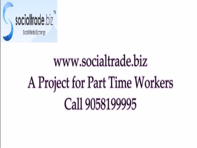 socialtrade gives you home based online jobs. call 9058199995