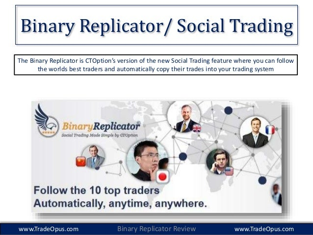 Binary options social trading