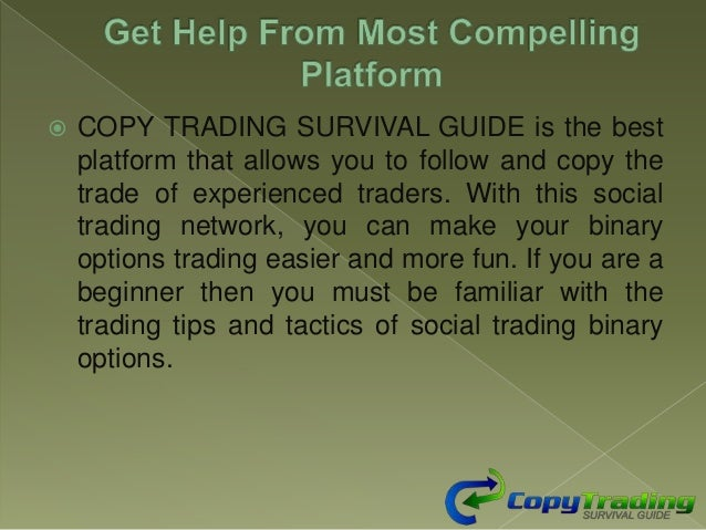 7 Binary Options – Social Trader