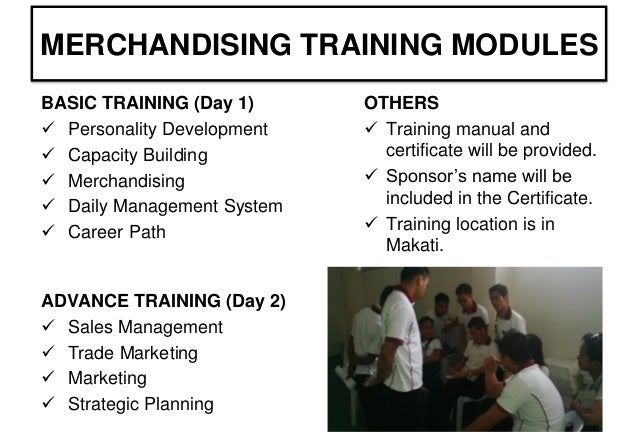 social training project for merchandisers rh slideshare net Auto Sales Training Retail Sales Training Manual