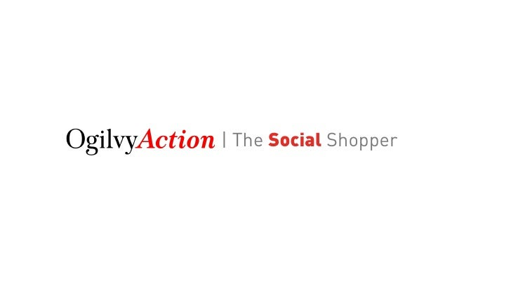 | The Social Shopper