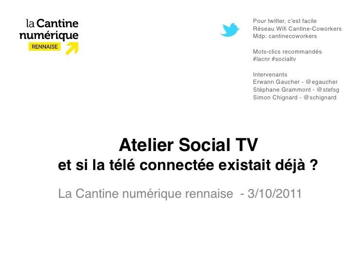 Pour twitter, c'est facile                                Réseau Wifi Cantine-Coworkers                                Mdp:...