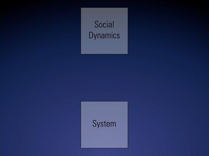 Social Dynamics     System