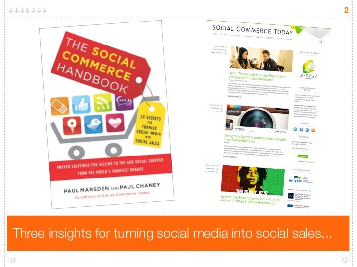 Social Utility: How to Turn Social Media into Social Sales Slide 2