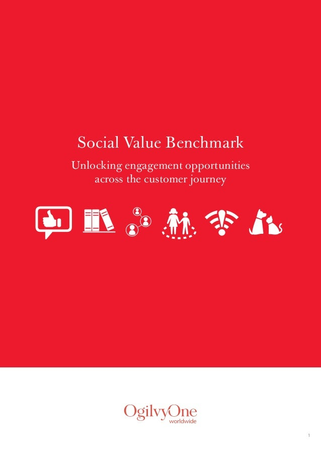 1  Social Value Benchmark  Unlocking engagement opportunities  across the customer journey