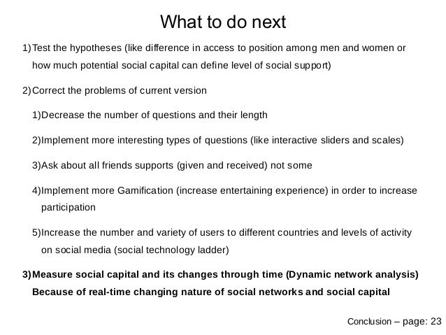 increase and decrease in social capital Increase social capital of vulnerable populations social capital viable support networks and social connections, which are part of the larger theory of social capital, are protective factors that decrease risk and enhance adaptation (norris et al, 2007).