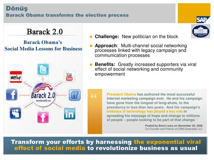 Share and consume</li></ul>Degree of <br />Change…<br />© SAP 2010 / Page 15<br />