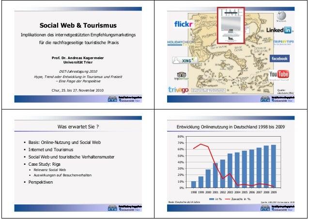Social Web & Tourismus Implikationen des internetgestützten Empfehlungsmarketings für die nachfrageseitige touristische Pr...