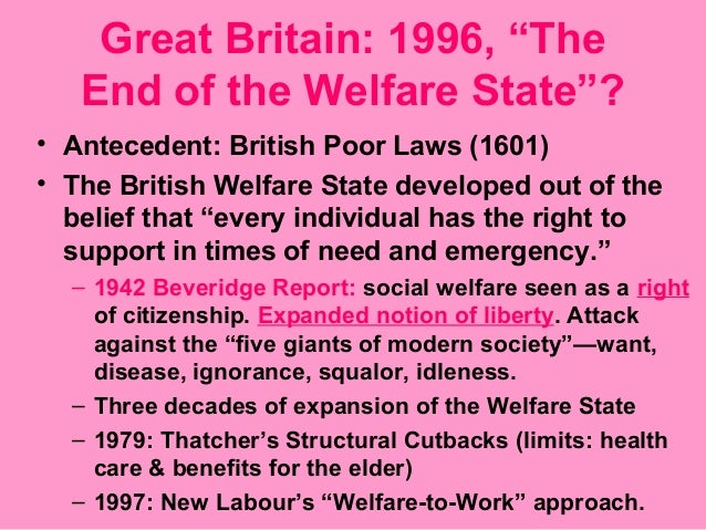 social policy welfare state essay Social welfare, the neo-conservative turn and educational opportunity will make sense thus, changes in us social welfare policy made in 1996 welfare state as 'the subordination of market price to social justice' in.