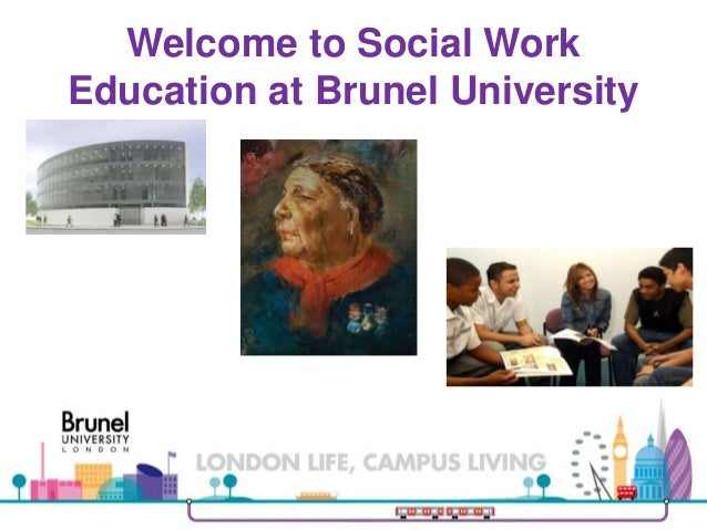 Welcome to Social Work Education at Brunel University