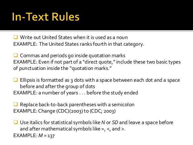 social work 2014 15 apa 6th ed  formatting rules