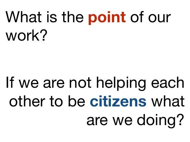 Social Work Curriculum for Citizenship