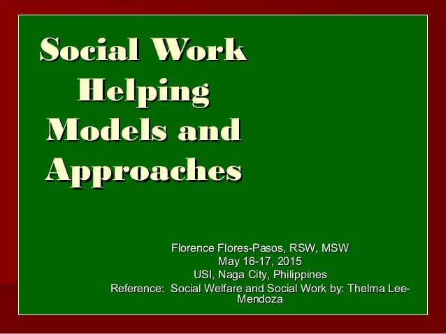 problem solving in social work