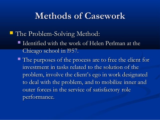 Problem statement thesis proposal