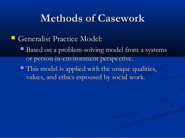 generalist cure model