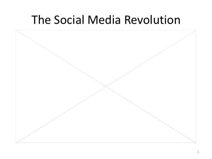 The Social Media Revolution                              1