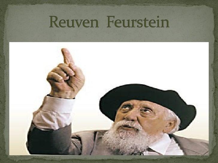 Psicólogo de origen judío nacido en 1921 en Botosan,  Rumania.Reuven emigro a Israel en 1944.En Bucarest, Feuerstein asist...